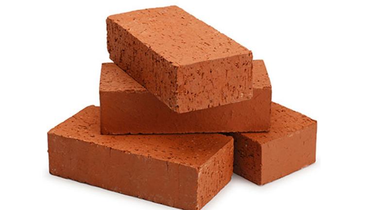 bricks red sand